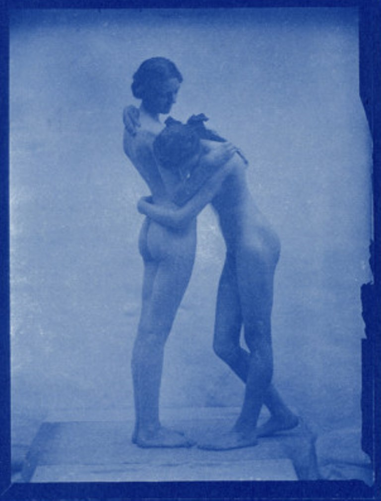 Edward Linley Sambourne. Two models embracing 1904. Via allposters