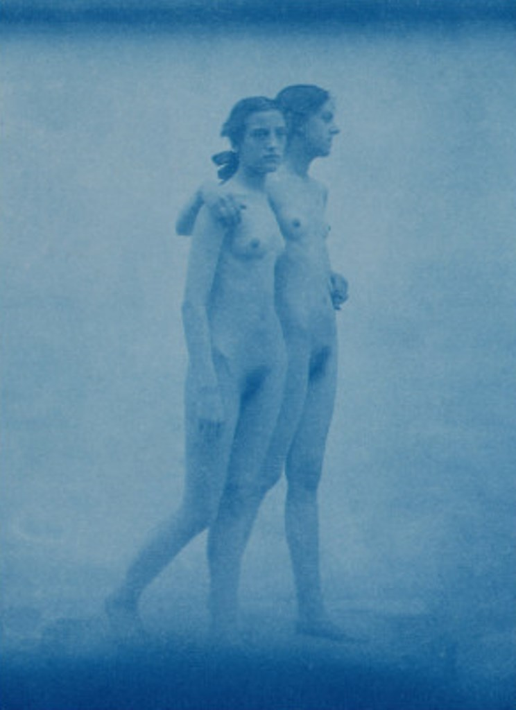 Edward Linley Sambourne2. Two models embracing 1904. Via allposters