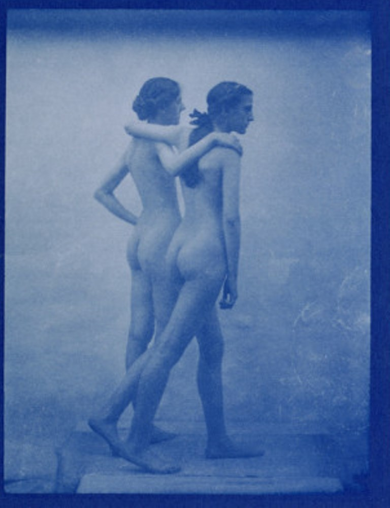 Edward Linley Sambourne7. Two models embracing 1904. Via allposters
