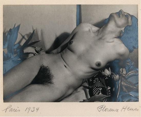 Florence Henri. Line Viala 1934. Via artnet
