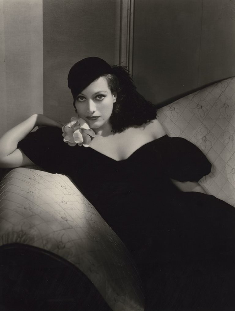George Hurrell. Joan Crawford. Via liveauctioneers