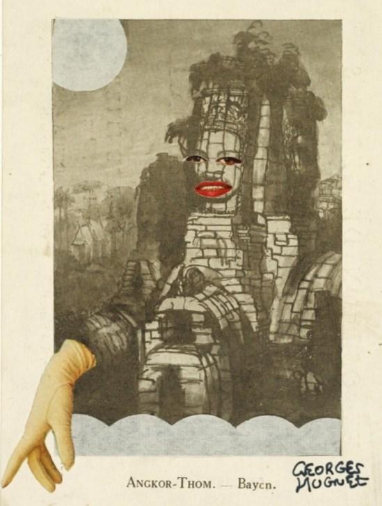 Georges Hugnet. Angkor-Thom 1930s. Via clevelandart