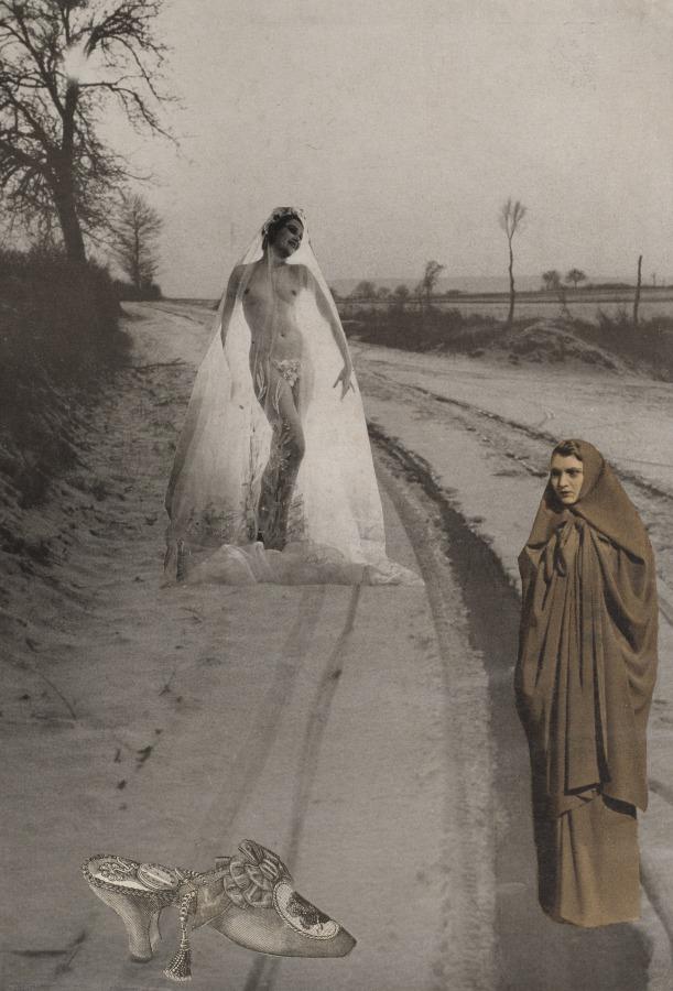 Georges Hugnet. Young bride 1933-1936. Via clevelandart