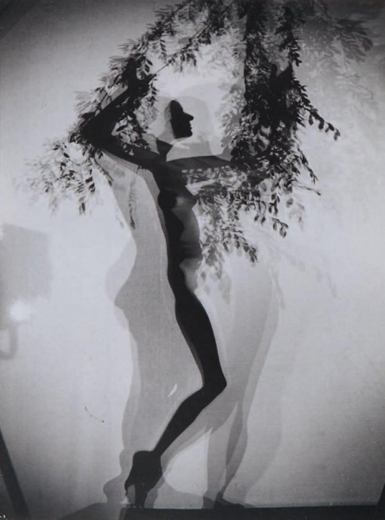 Henri de Chatillon .Sous le feuillage 1960. Via yannlemouel