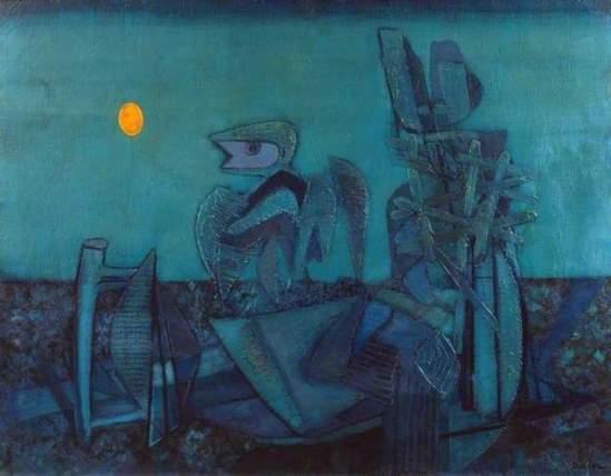 Jankel Adler. No man's land 1943