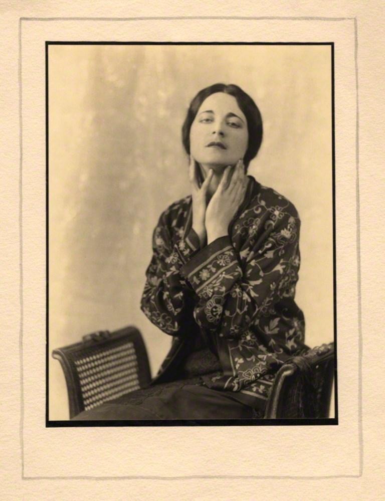 Joan Craven. Harriet Cohen 1925. Via npg