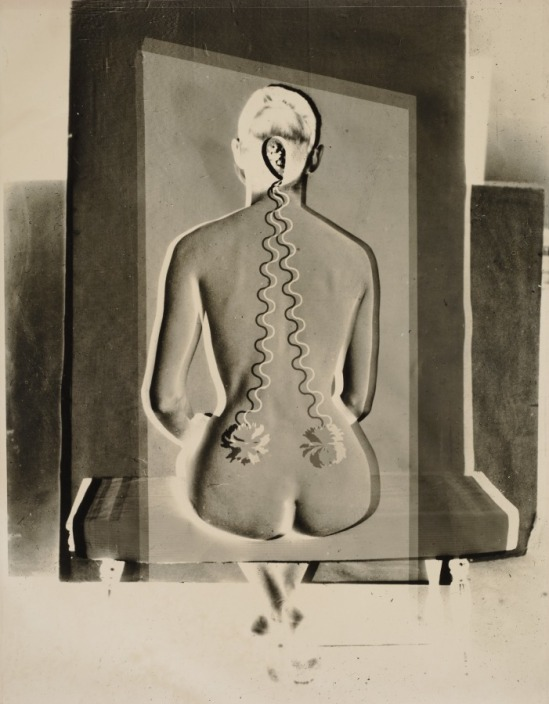 Josef Breitenbach. Electric Back, 1949. Via clevelandart