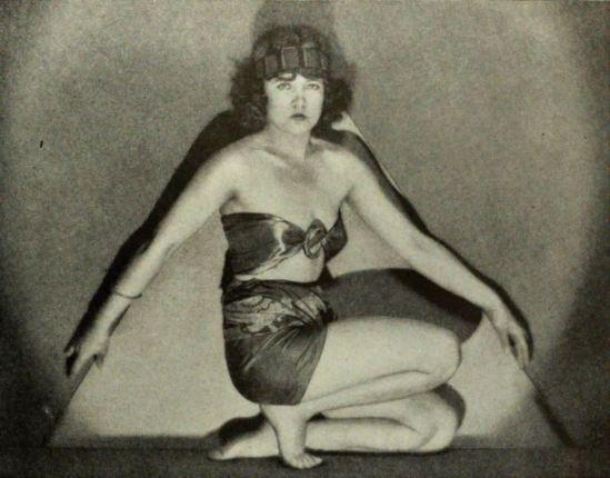 L'actrice Marie Prevost 1922. Via wiki