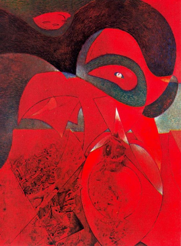 Max Ernst. Compendium of the history of the universe 1953