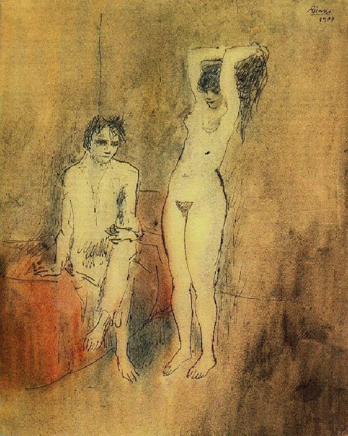 Pablo Picasso. Couple 1904