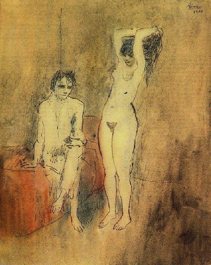 Pablo Picasso. Couple 1904