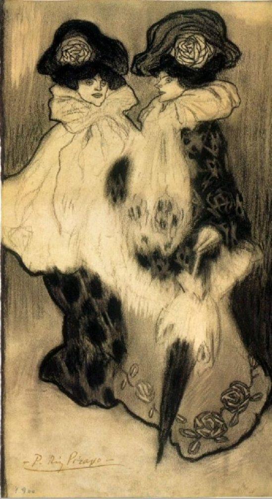 Pablo Picasso. Deux femmes 1901