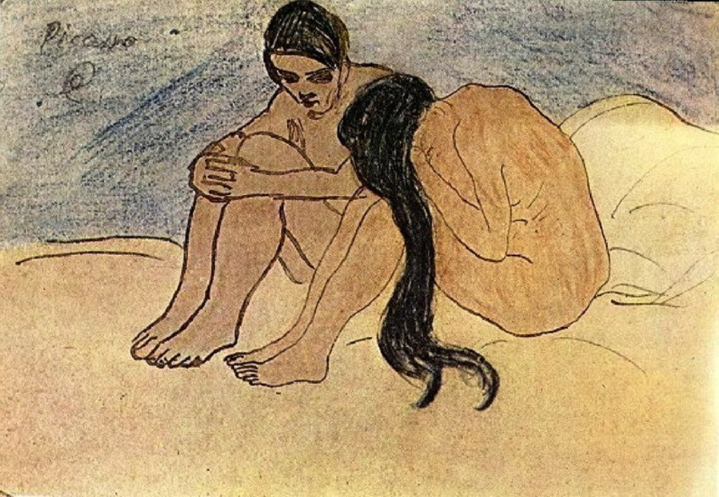 Pablo Picasso. Homme et femme 1902