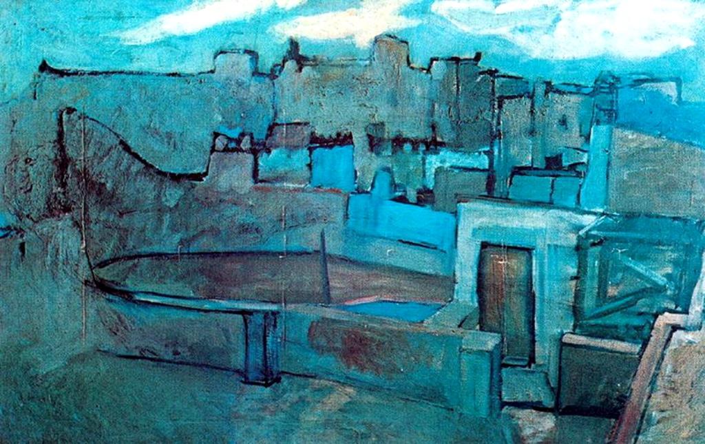 Pablo Picasso. Les toits de Barcelone 1903