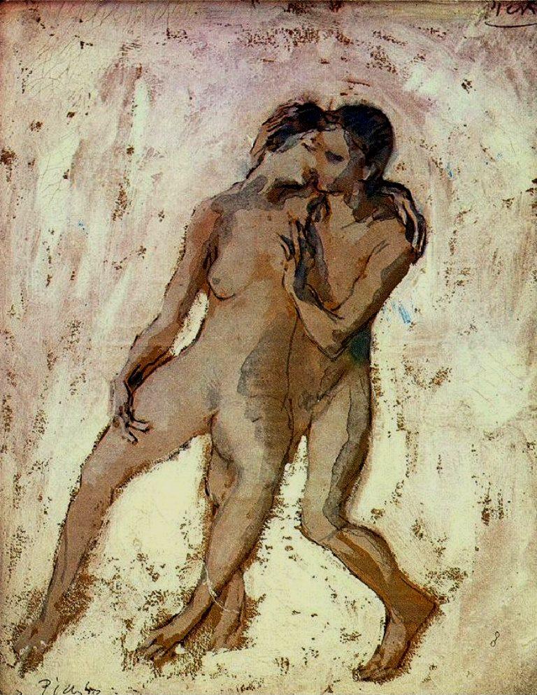 Pablo Picasso. Nus entrelacés 1905