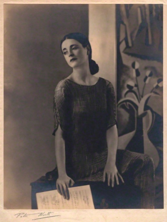 Peter North. Harriet Cohen 1930s. Via npg