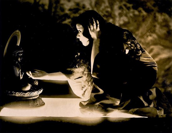 Theda Bara in the Soul of Buddha 1918
