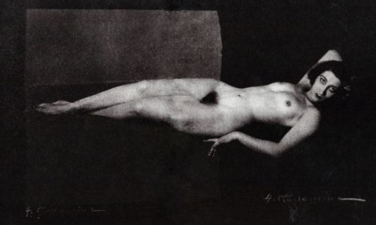 Albert Rudomine. Jeanne Hébuterne 1917. Via venusobservations