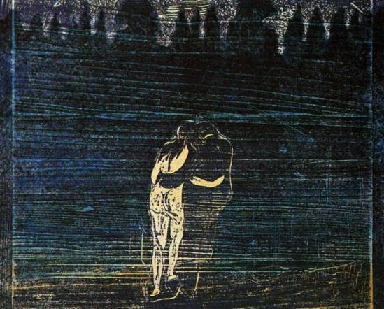 Edvard  Munch. To the forest 1887
