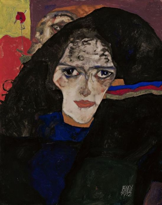 Egon Schiele. Femme en deuil 1912