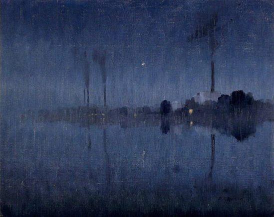 Elioth Gruner. Nocturne 1921