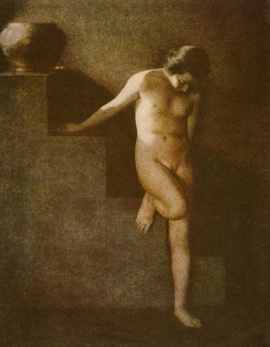 Frantisek Drtikol. Untitled [nude study] 1912. Via argo.net