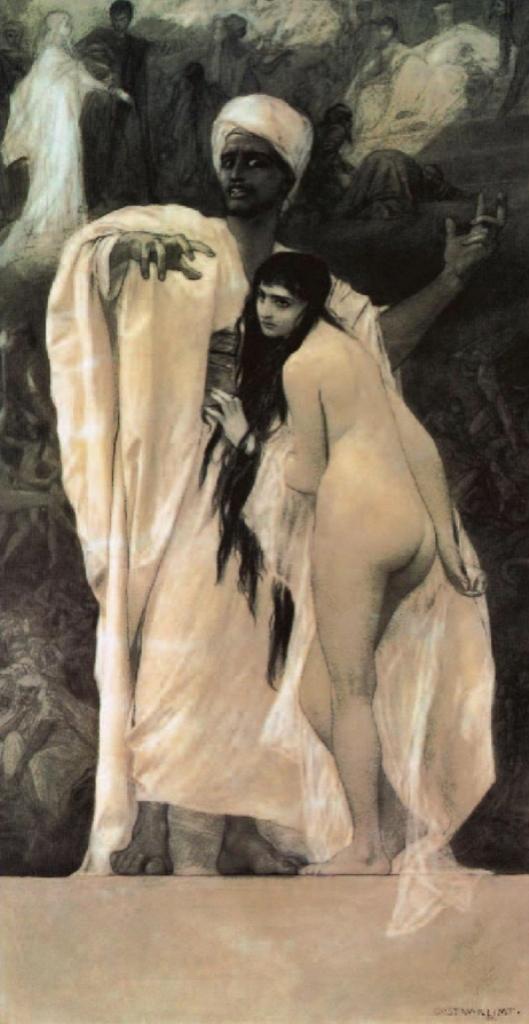Gustav Klimt. Fairy tale 1884