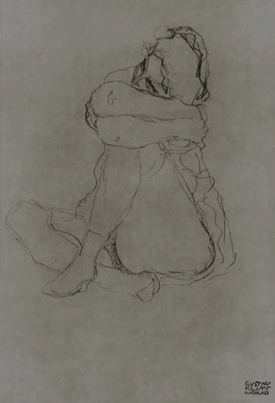 Gustav Klimt. Femme assise