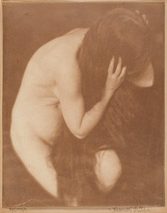 Heinrich Kühn. Nude 1906. Via argo.net