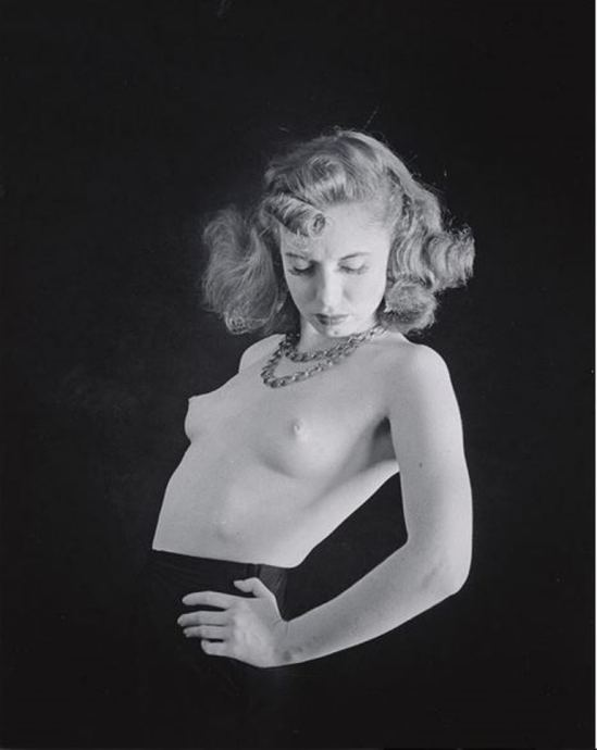 John Gutmann. Topless dancer 1939. Via ccpemuseum