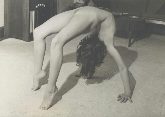 Josef Breitenbach. Sans titre 1950s. Via ccpemuseum