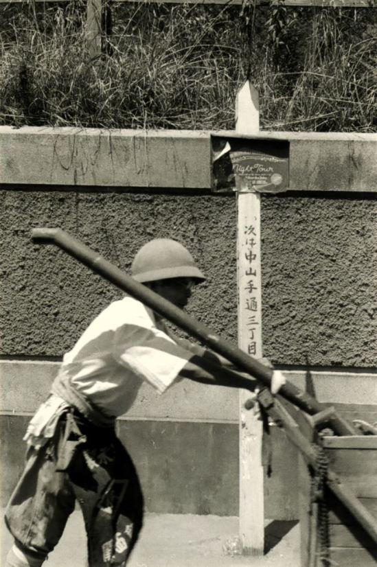 Kansuke Yamamoto. Work 1956 ©Toshio Yamamoto