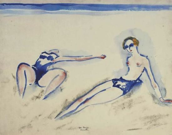Kees van Dongen. Bathers at Deauville 1920