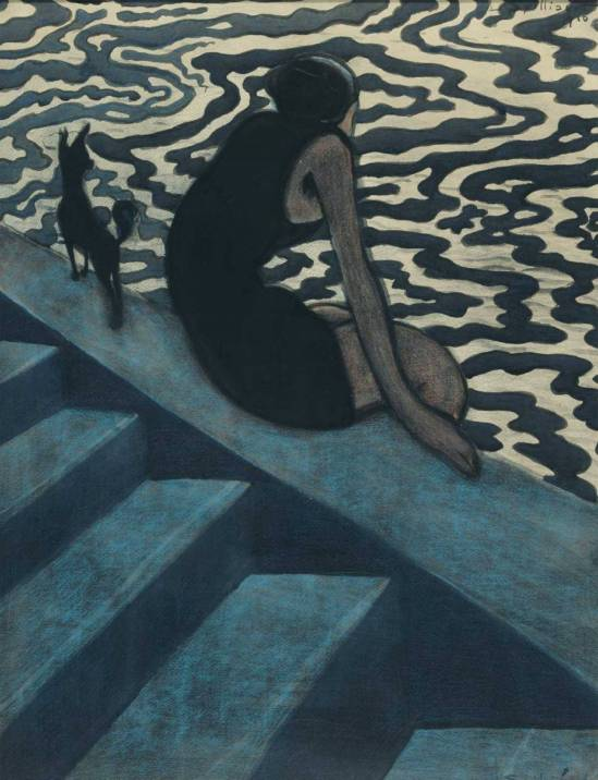Léon Spilliaert. The bather 1910