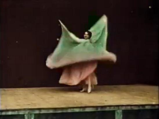 Loie Fuller. Danse serpentine 1896