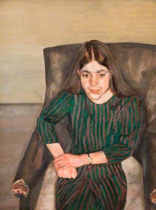 Lucian Freud. Annabel 1967