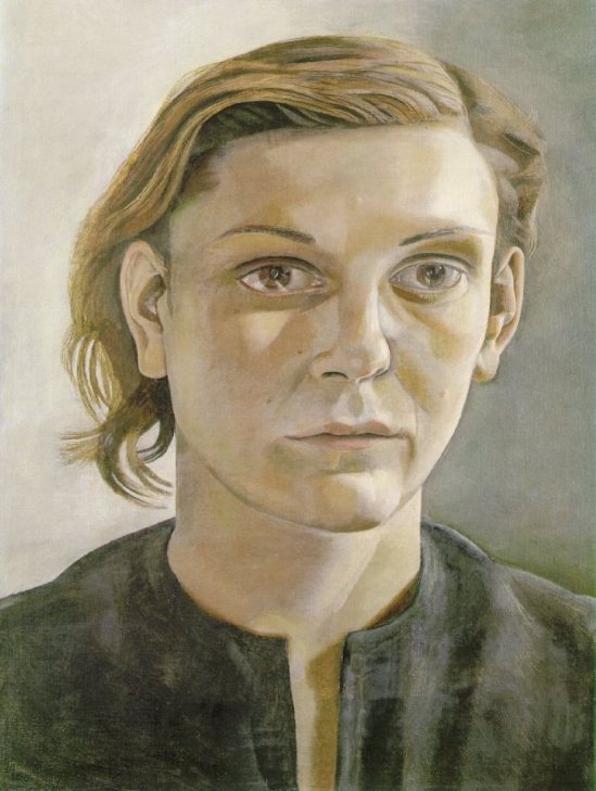 Lucian Freud. Portrait of a woman