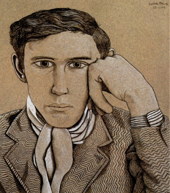 Lucian Freud. Portrait Of A Young Man 1949