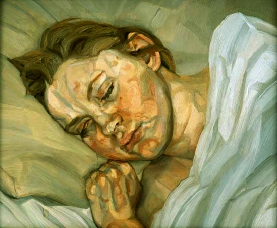 Lucian Freud. Sleeping girl 1979-1980