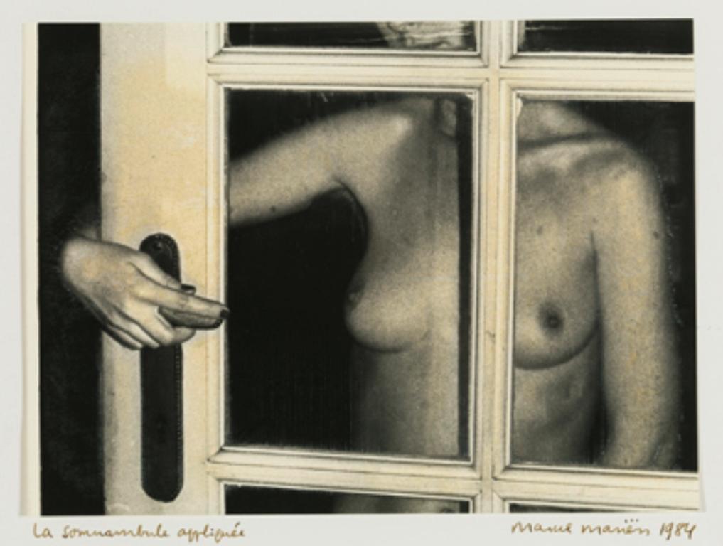 Marcel Mariën. La somnambule appliquée 1984. Via fine-arts-museum.be.jpg