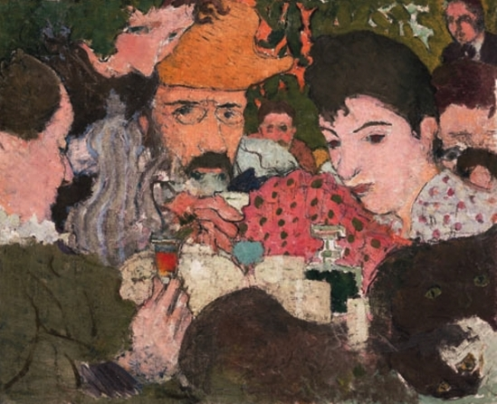 Pierre Bonnard. Goûter au jardin
