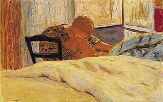 Pierre Bonnard. La toilette (pédicure)