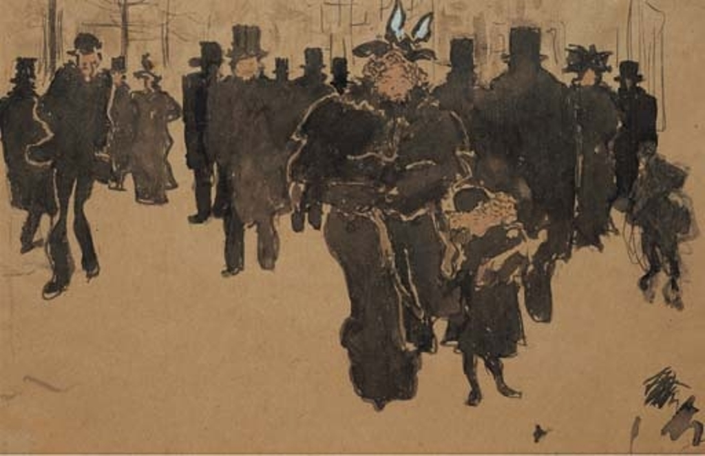 Pierre Bonnard. Le boulevard