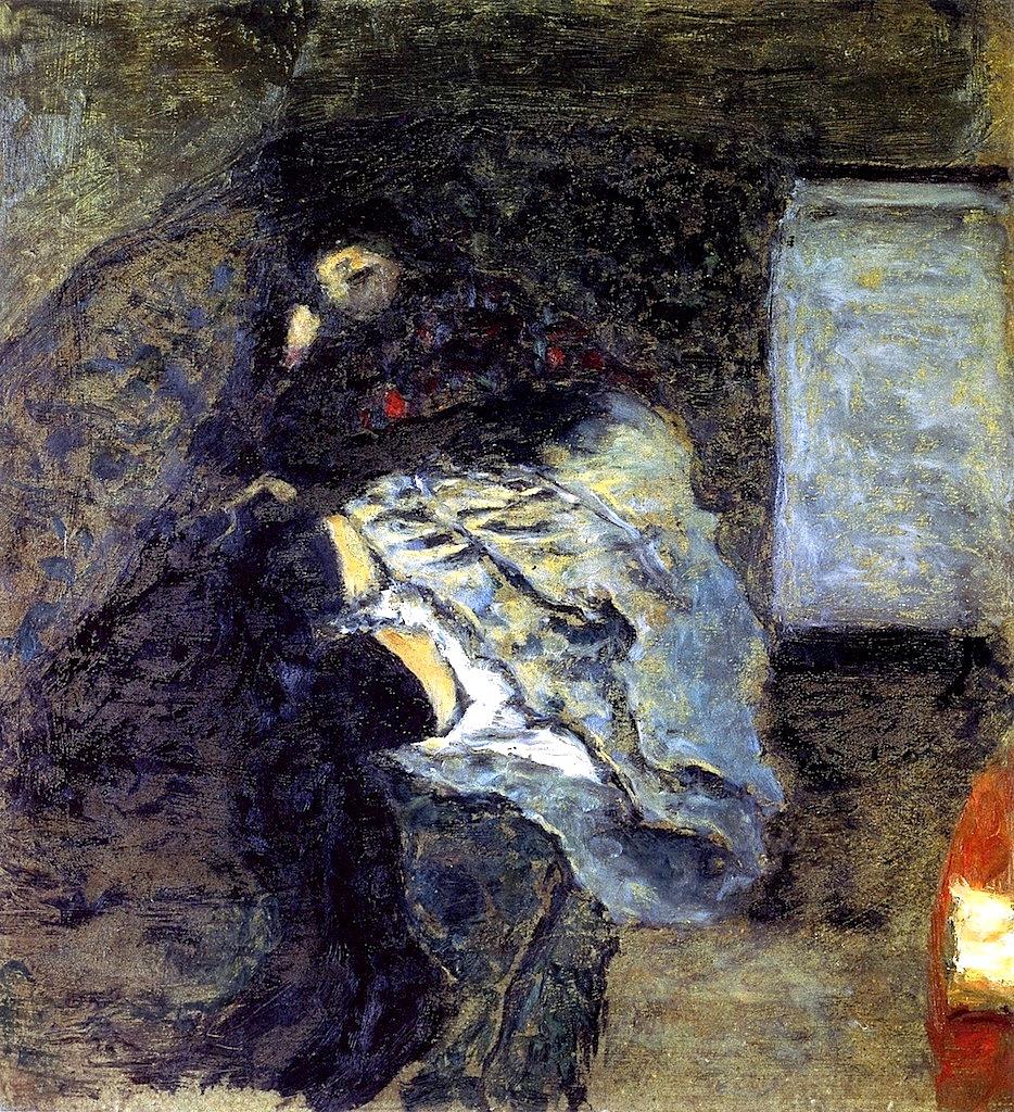 Pierre Bonnard. Marthe Bonnard 1900