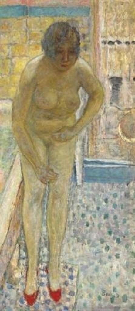 Pierre Bonnard. Nu aux babouches rouges 1932