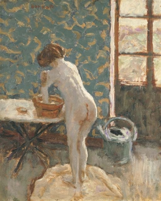 Pierre Bonnard. Nu à l'arrosoir ou toilette à la campagne