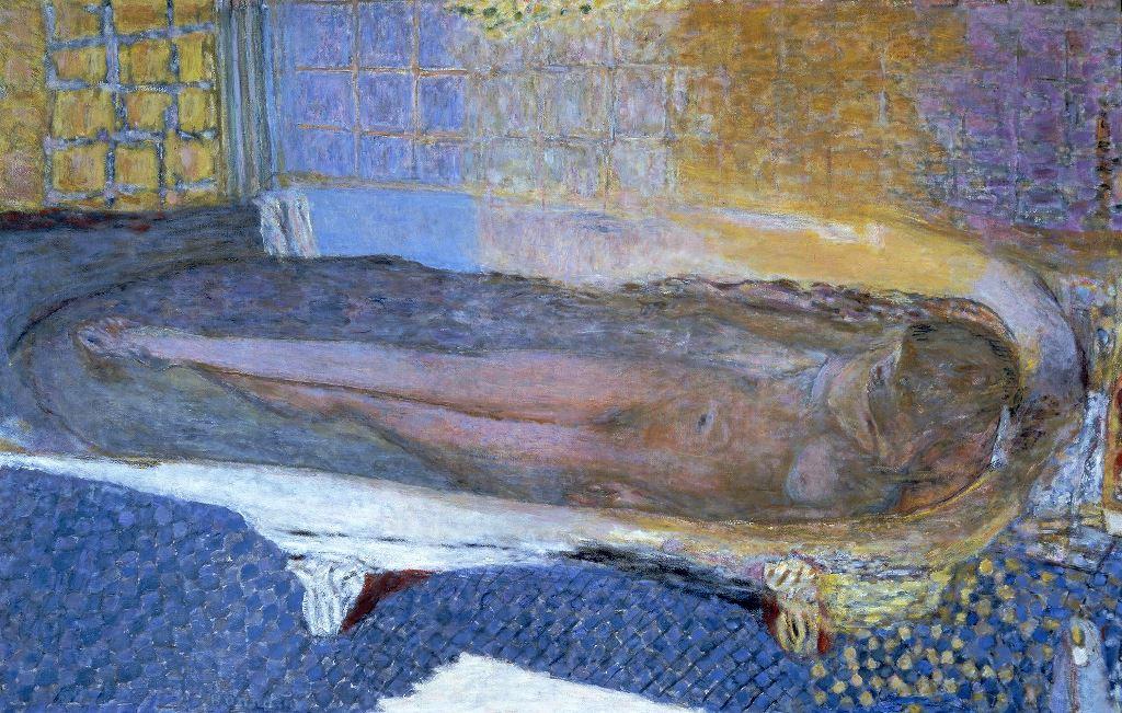 Pierre Bonnard. Nu dans la baignoire 1936
