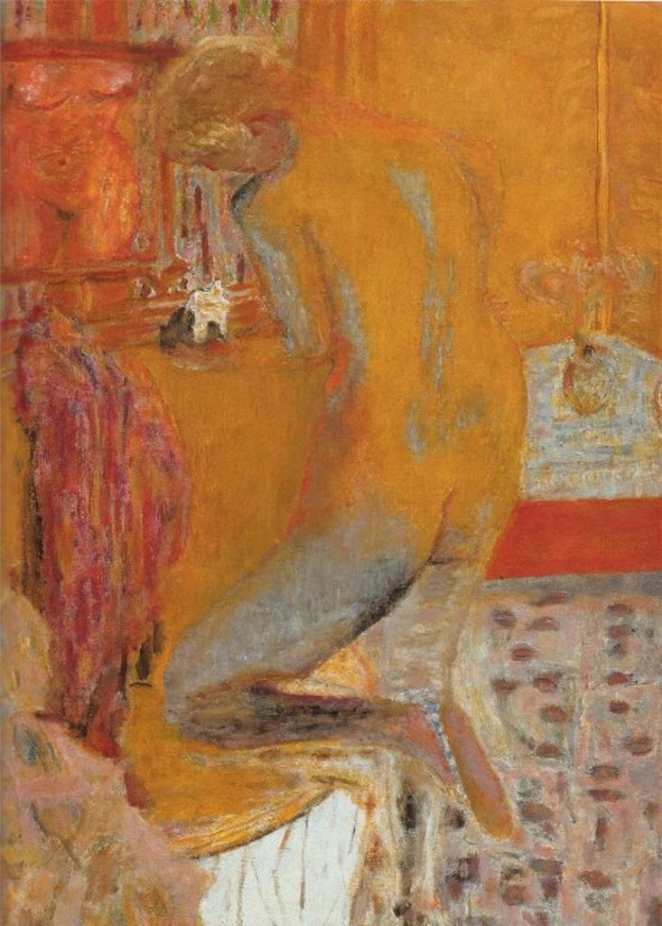 Pierre Bonnard. Nu jaune 1934