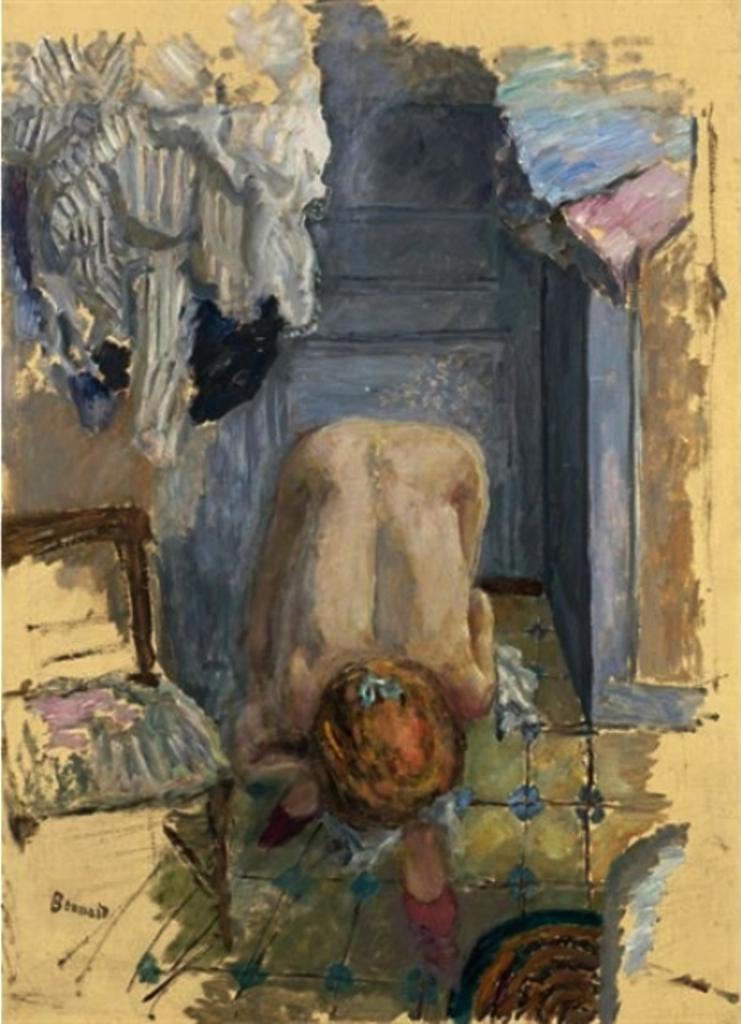 Pierre Bonnard. Nu penché en avant 1918