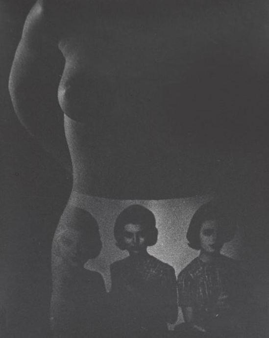 Robert Heinecken. Figure, underware 1965. Via ccpemuseum